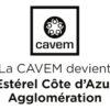 Logo La CAVEM devient - centréR